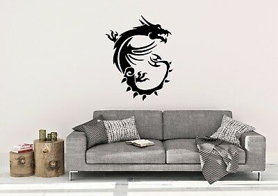 MSI Dragon Inspired Design Wall Vinyl Decal/Sticker in 4 size's