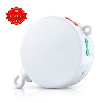 12 Melodies Baby Mobile Crib Bed Bell Electric Autorotation Music Musical Box