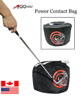 New A99 Golf Swing Training Aids Golf Impact Contact Power smash Bag Black