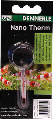 Dennerle Nano Therm - Aquarium Thermometer for Nano Tanks • EUR 4,91
