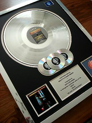 Depeche Mode Black Celebration Lp Multi Platinum Disc Record Award Album