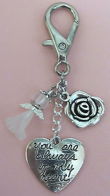 Memory Memorial Keepsake Card Gift Charm Bereavement Loss Remembrance Day Angel
