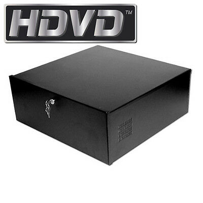 Security DVR Lock-Box, 15 x 15 x 5 inch, Fan, Heavy Duty 16 Gauge, BEST QUALITY