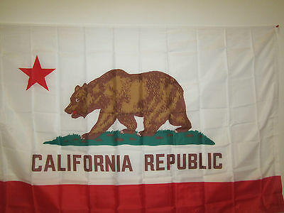 California State Flag 3ft x 5ft Polyester Brand New Perfect Condition!