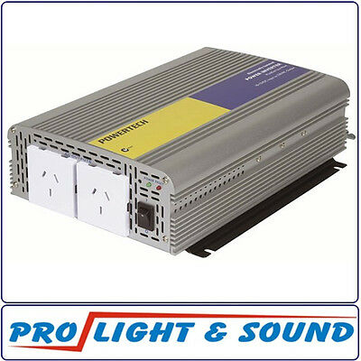 Inverter, Electrically Isolated, 1000W (450W Surge) 12VDC To 230VAC 50Hz