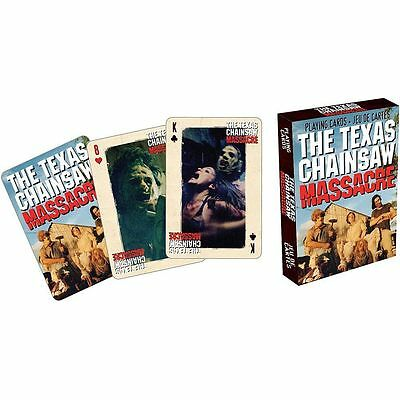 Texas Chainsaw Massacre Cast Playing Cards Poker Leatherface New Sealed