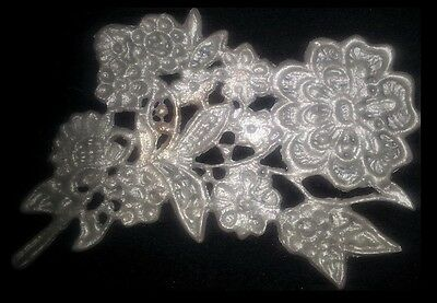12 Pieces Applique Lace Set For Baby Shower Or Birthdays