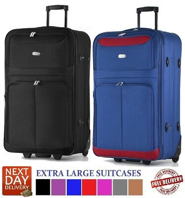 """Extra Large 32"""" or Large 29"""" Super Lightweight Trolley Case suitcase luggage"""