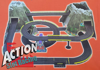 Micro Scalextric Mountain Rally Track Set *RARE*