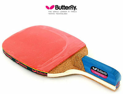 new Premium Butterfly ADDOY P10 Table Tennis Racket Penhold Paddle Ping Pong