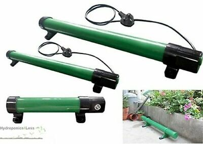 Electric Tubular Greenhouse Tent Tube Heater Garage Shed Kennel Hydroponics IP55