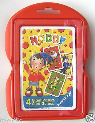 Noddy Giant Picture Card Games By Ravensburger - Brand New & Sealed!