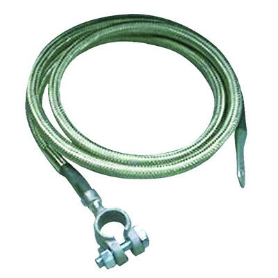 Taylor Battery Cable 20241; 4 Gauge Copper 41 Inches Silver Side Terminal//Eyelet