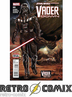 Marvel Star Wars Vader Down #1 First Print New/unread Bagged & Boarded