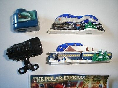 The Polar Express Toys & 3D Puzzles 2004 Kinder Surprise Figurines Collectibles