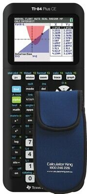 NEW TI‑84 Plus CE Graphing Calculator - BONUS PADDED WALLET