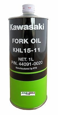 Olio Forcelle Kawasaki Oil Fork Front Khl 15-11 - 44091-0020 Made In Kayaba 15W