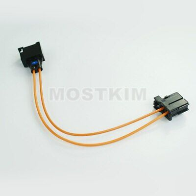 MOST Fiber Optic Cable Connectors Male To Female For Audi BMW Benz etc 50CM
