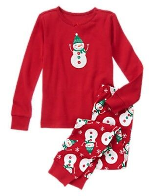 NWT Gymboree U-PICK Snowman Gymmies Sleep Set Pajamas NEW Holiday Christmas