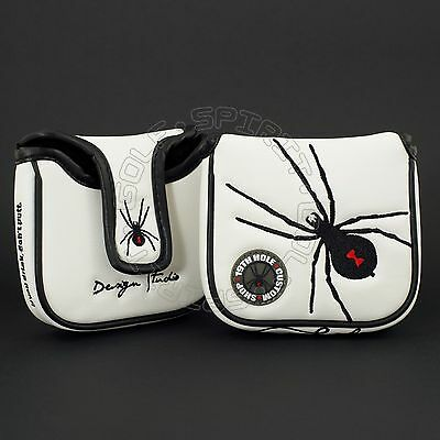 Brand New Golf Head Cover for TaylorMade GHOST Spider S Mallet Putter Heel Shaft