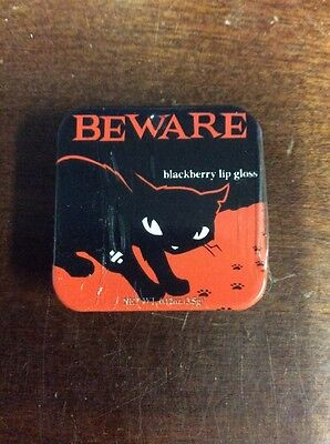 Emily the Strange Beware Blackberry Lip Gloss .12 Oz / 3.5 g Boston America
