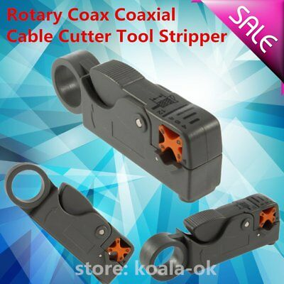 Rotary Coax Coaxial Cable Cutter Tool RG58 RG6 Stripper Coax Rotary Cutter OY
