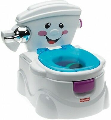 Child Talking Sounds Toilet My Potty Friend Fisher-Price Kids Musical Fun Toy