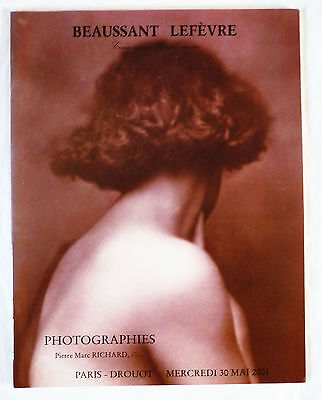 Catalogue De Vente « Photographies »