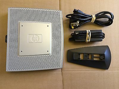 Hp T5740 Thin Client + Psu + Stand / Wes09 ( Re-Furbished ) 2Gbf / 1Gbr