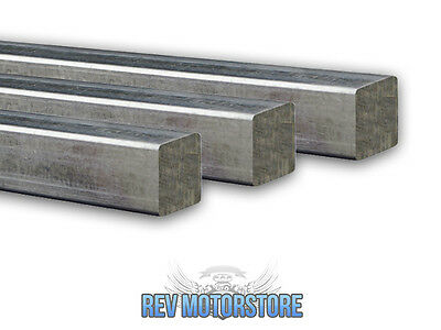 "1"" Inch Mild Steel Square Bar Milling Engineering Square Bar Rod 25 X 25Mm"