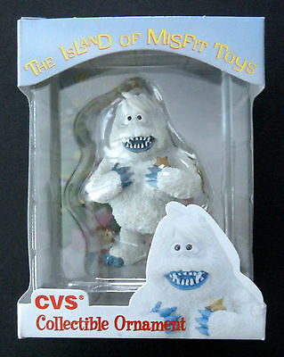 Bumble Abominable Snowman Ornament Rudolph Island of Misfit Toys CVS  Rare