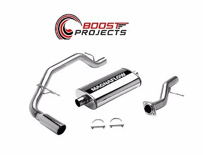 MagnaFlow EXHAUST SYSTEMS  CAT-BACK MF   SERIES POLISHED 15666