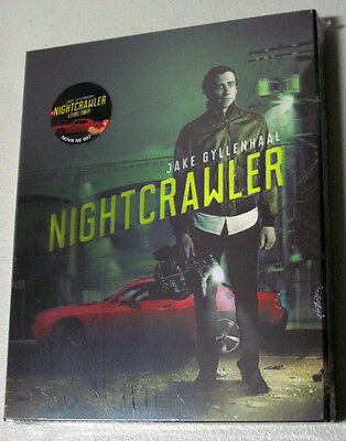 NIGHTCRAWLER ( Blu-ray ) Korea Limited Lenticular STEELBOOK / Region A