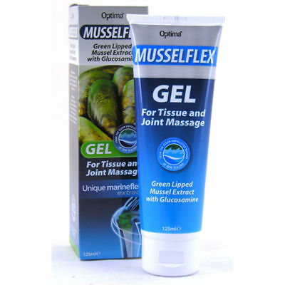 Optima Musselflex & Glucosamine Gel 125ml