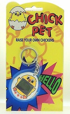 LOT of 2 Gigapet tamagotchi like virtual pet yellow baby chicks OLD new STOCK