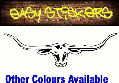 900mm Longhorn includes 4 FREE 300mm! Car Ute Sticker RM Williams Truck Decal