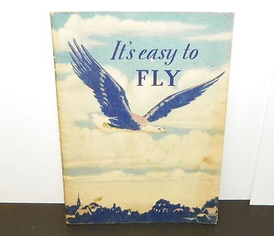 1929 It's Easy to Fly Socony Esso Gas Oil Airplane Standard New York 48 pages