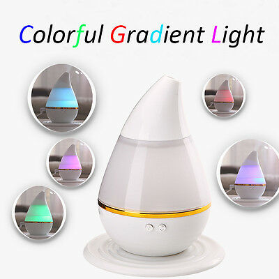 Essential Oil Ultrasonic Humidifier Aroma Air Aromatherapy Diffuser Purifier E