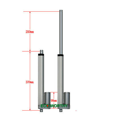 10'' 12V 1500N Multi-purpose Linear Actuator motor for electric medical lifting