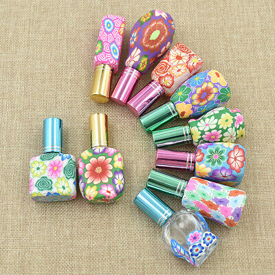 1pc 15ml Empty Perfume Bottle Polymer Clay Spray Bottle Colorful Delicate