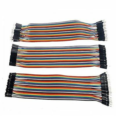 120pcs 3*40P 20cm DuPont Wire Breadboard Jumper Wire Male to Male Male to Female