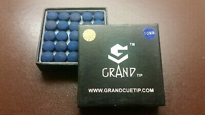 Grand Cue Tips for Snooker or Pool - 10mm SOFT