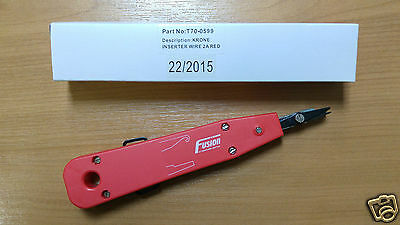 IDC Punch Down Genuine Fusion Krone Type Tool Network Data Insertion BT 2a Cat5e