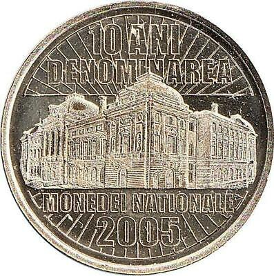 "Rumaenien 50 Bani 2015 ""10th anniversary of the Currency Redenomination'"""