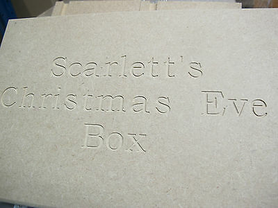 Personalised Christmas Eve Box Engraved Quality Large