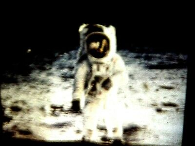 HISTORY IN MAKING 1969's APOLLO 11 LANDING ON MOON 36 SLIDE IN CARTAGE TO VIEW