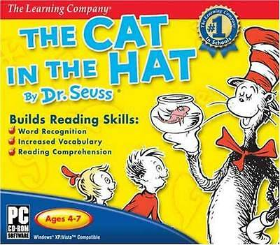 NEW Encore Software Dr. Seuss' The Cat In The Hat 13183