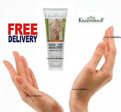 Protects Soft & Caring Hand Nail Cream with Panthenol Parabens Free Krauterhof