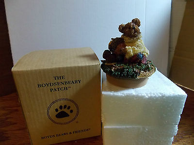 The Boydsenbeary Patch Boyd Bears & Friends Oakley Candletopper Jar