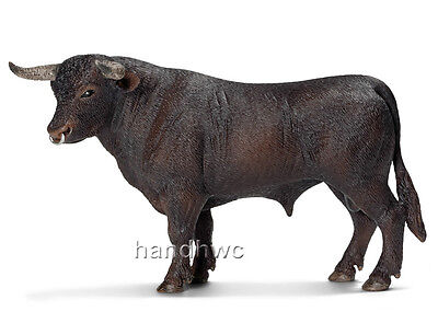 Schleich 13722 Black Spanish Fighting Bull Toy Cow Model Figurine - NIP